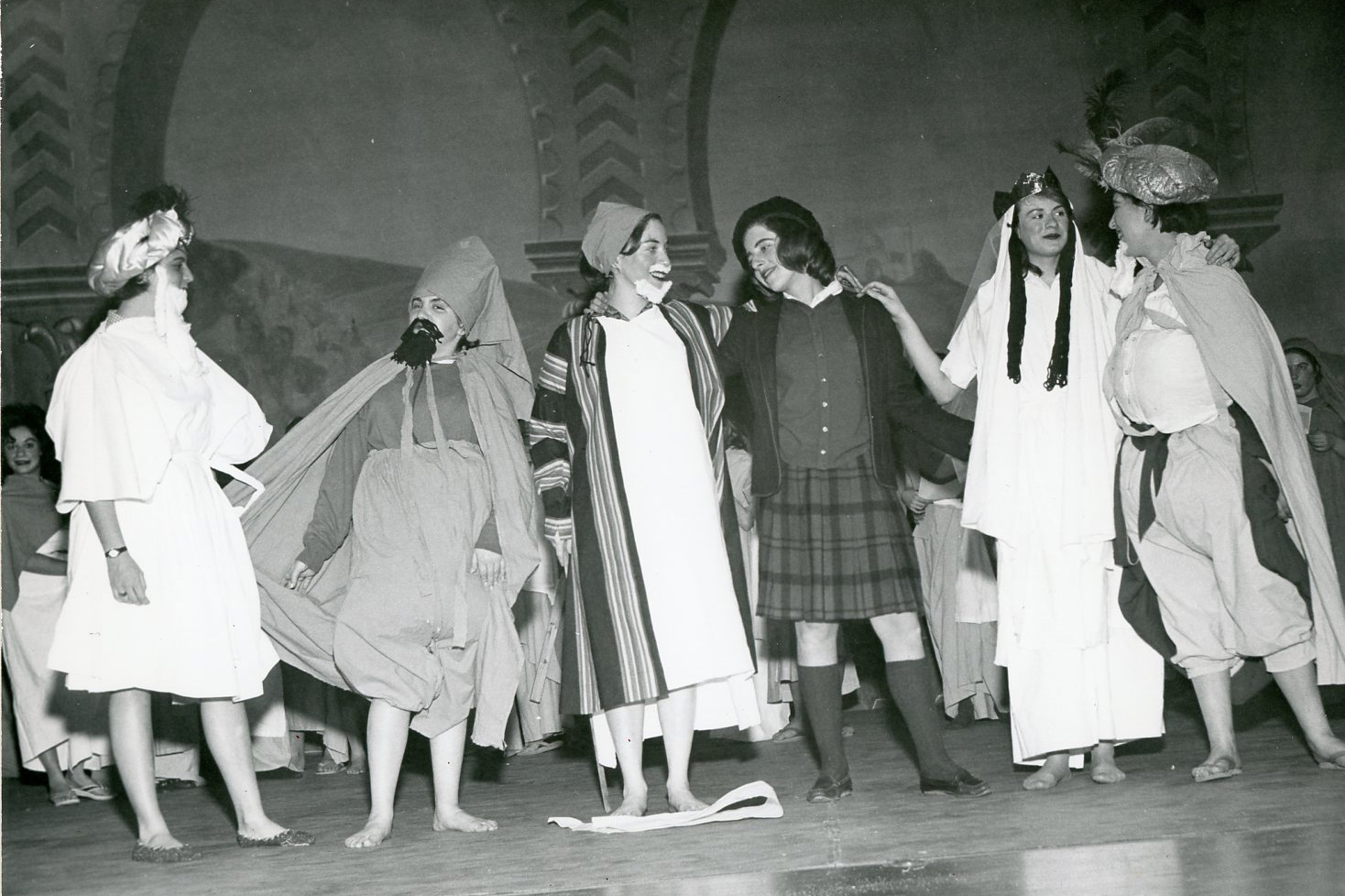 Purim Party from 1963